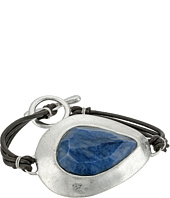 Robert Lee Morris - Semiprecious Stone Leather Toggle Bracelet