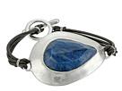 Robert Lee Morris - Semiprecious Stone Leather Toggle Bracelet