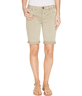 Liverpool - Hayden Boyfriend Shorts in Stretch Peached Twill