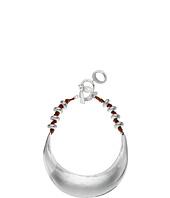 Robert Lee Morris - Sculptural Suede Collar Necklace