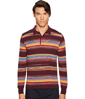 Missoni - Riga Chevron Long Sleeve Polo