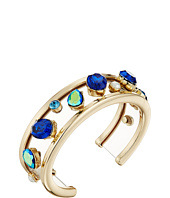 Betsey Johnson - Mixed Multicolored Stone Cuff Bracelet