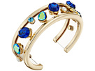 Betsey Johnson - Mixed Multicolored Stone Cuff Bracelet