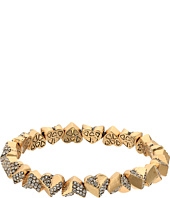 Betsey Johnson - Geometric Heart Stretch Bracelet