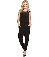MICHAEL Michael Kors - Drawstring Tapered Leg Jumpsuit