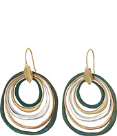 Robert Lee Morris - Patina Mixed Metal Orbital Earrings