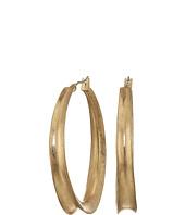 Robert Lee Morris - Sculptural Gold Hoop Earrings