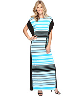 MICHAEL Michael Kors - Abbey Stripe Maxi Dress