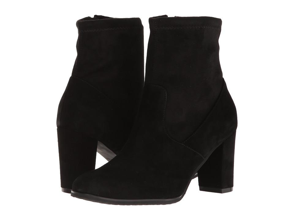 Blondo - Kelly Waterproof Bootie (Black Suede) Womens  Shoes