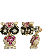 Betsey Johnson - Owl Ear Jacket Earrings