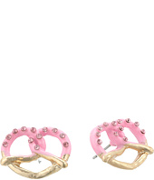 Betsey Johnson - Pretzel Stud Earrings