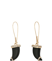 Betsey Johnson - Horn Long Drop Earrings