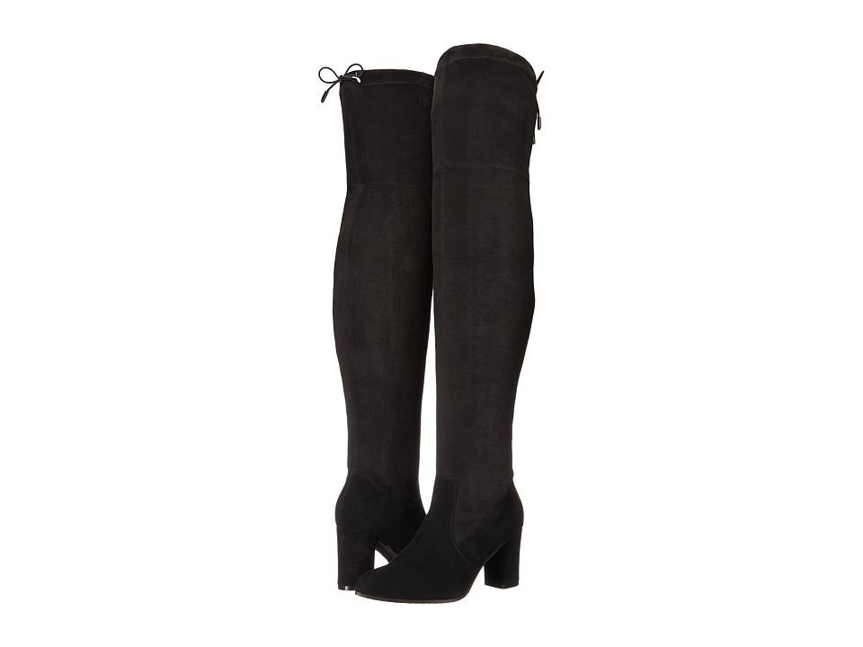 Blondo - Taras Waterproof (Black Suede) Womens  Shoes