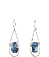 Robert Lee Morris - Semiprecious Stone Teardrop Earrings