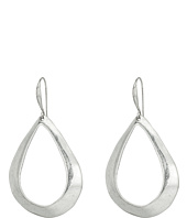 Robert Lee Morris - Sculptural Teardrop Gypsy Hoop Earrings