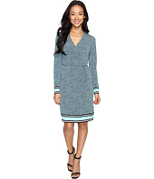 MICHAEL Michael Kors - Stingray Border Wrap Dress