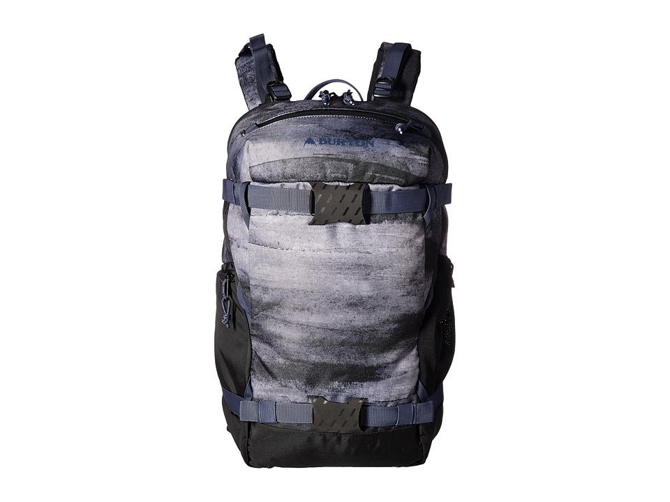 Burton - Rider's Pack 23L (True Black Sedona Print) Backpack Bags