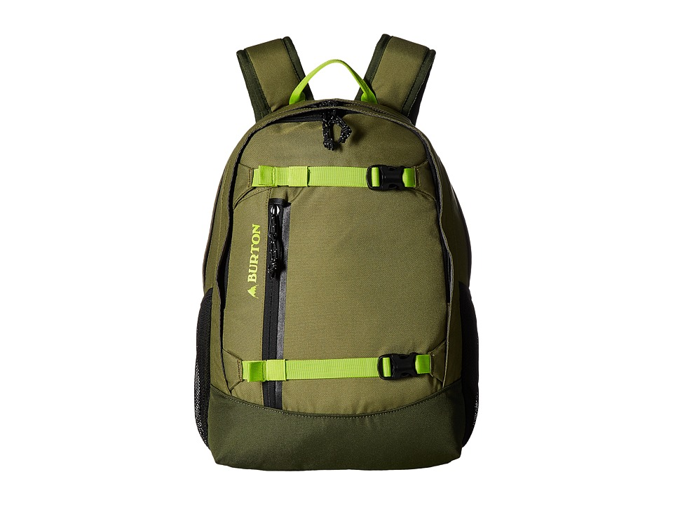 Burton Youth Day Hiker [20L] (Olive Branch) Backpack Bags