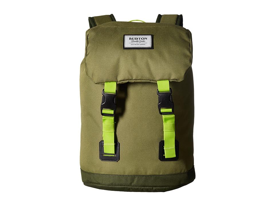 Burton Tinder Backpack (Little Kid/Big Kid) (Olive Branch) Backpack Bags