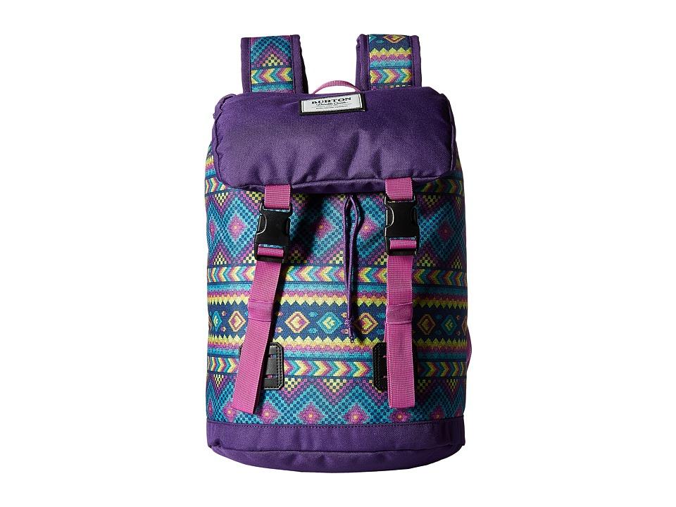 Burton Tinder Backpack (Little Kid/Big Kid) (Bohemia Print) Backpack Bags