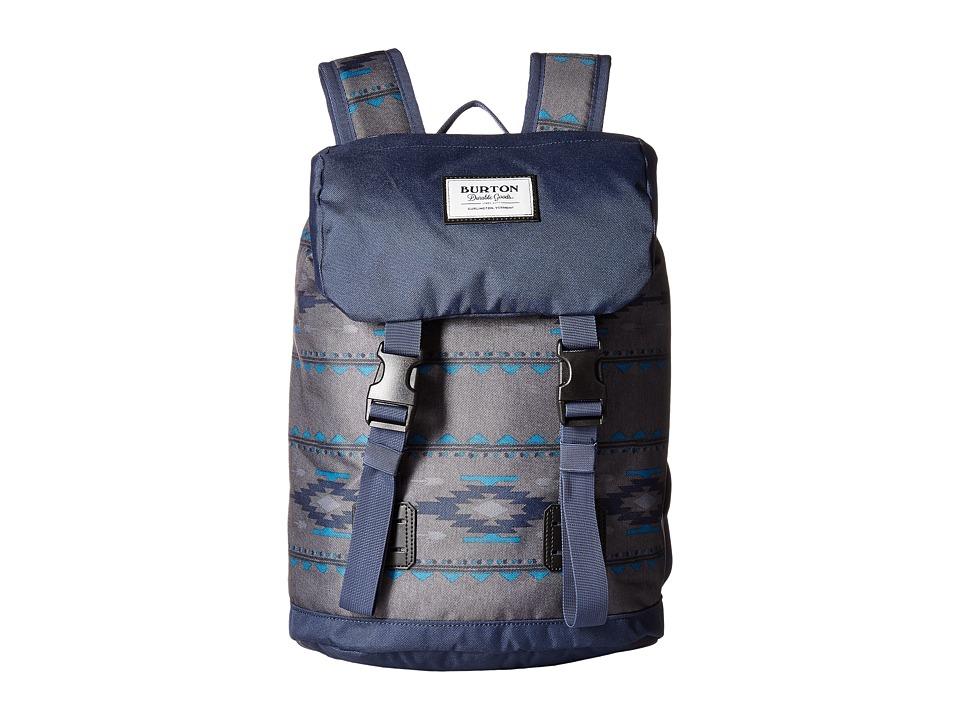 Burton Tinder Backpack (Little Kid/Big Kid) (Faded Saddle Stripe) Backpack Bags