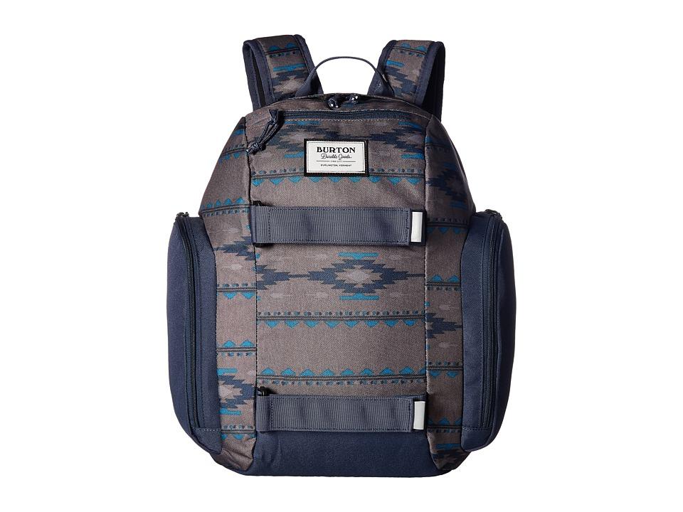Burton Metalhead Backpack (Little Kid/Big Kid) (Faded Saddle Stripe) Backpack Bags
