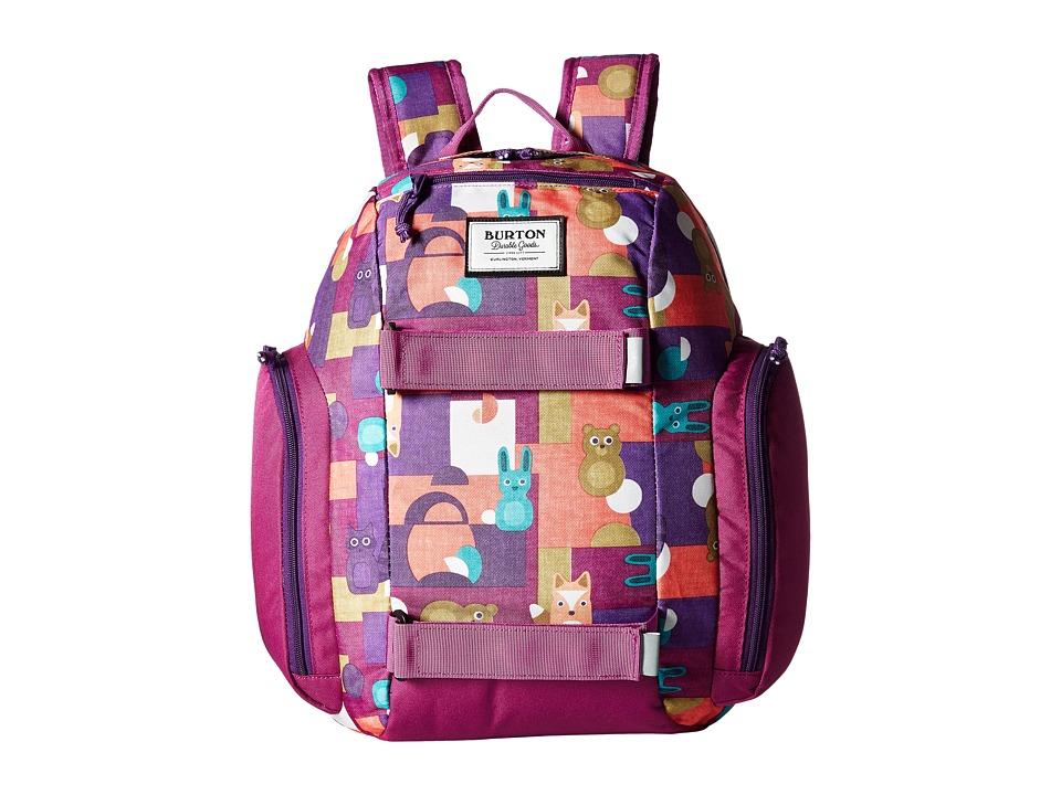 Burton Metalhead Backpack (Little Kid/Big Kid) (Paper Animals Print) Backpack Bags