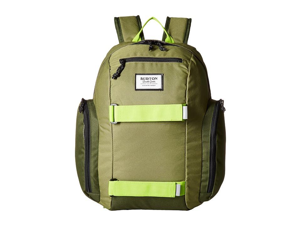 Burton Metalhead Backpack (Little Kid/Big Kid) (Olive Branch) Backpack Bags