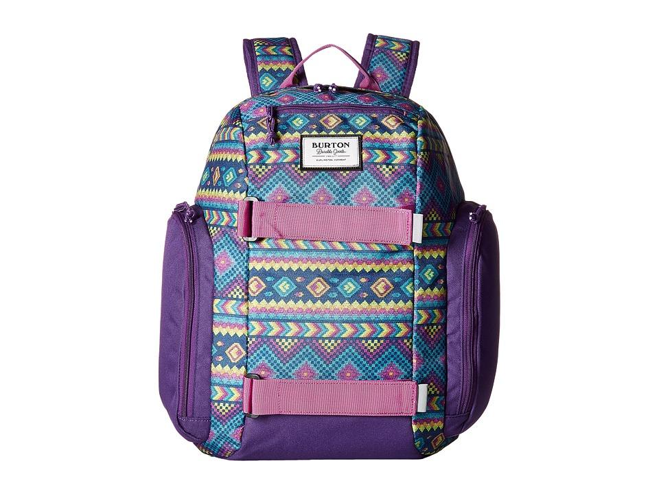 Burton Metalhead Backpack (Little Kid/Big Kid) (Bohemia Print) Backpack Bags