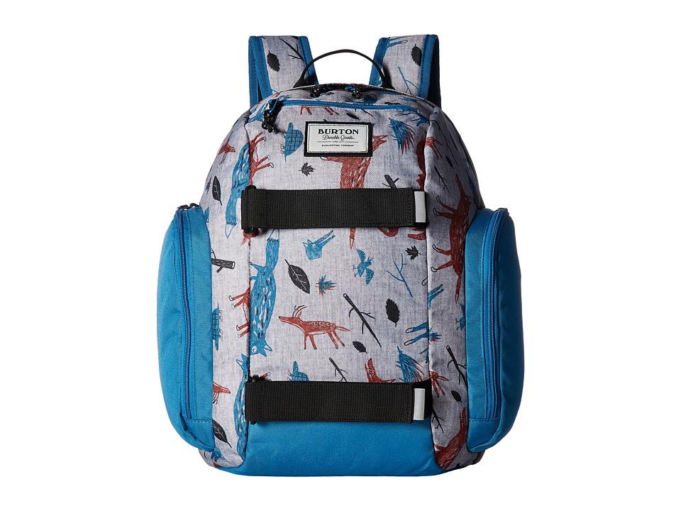 Burton Metalhead Backpack (Little Kid/Big Kid) (Big Bad Wolf Print) Backpack Bags