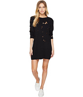 LNA - Destroyed Sweatshirt Dress