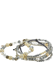 Chan Luu - Set of 3 Crystal Bracelets