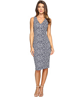 MICHAEL Michael Kors - Sporty Jacquard V-Neck Dress