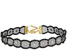 Chan Luu - Adjustable Metallic Lace Crystal Choker Necklace