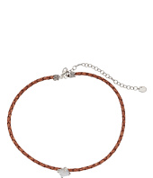 Chan Luu - Adjustable Semi Precious Stone Choker on Leather Necklace