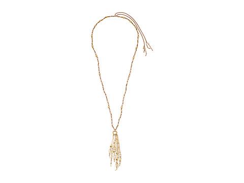 Chan Luu Adjustable Crystal Fringe Necklace