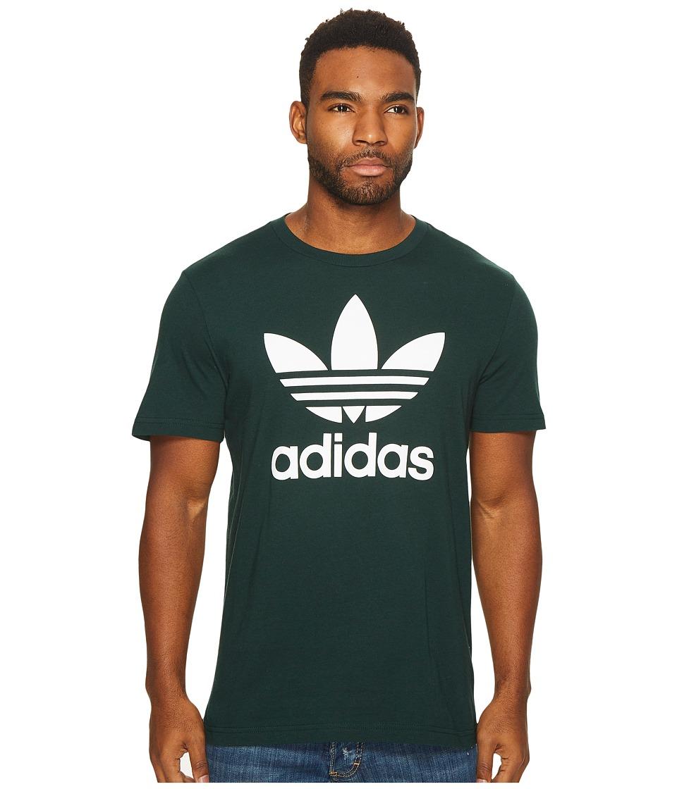adidas Originals Originals Trefoil Tee (Green Night) Men