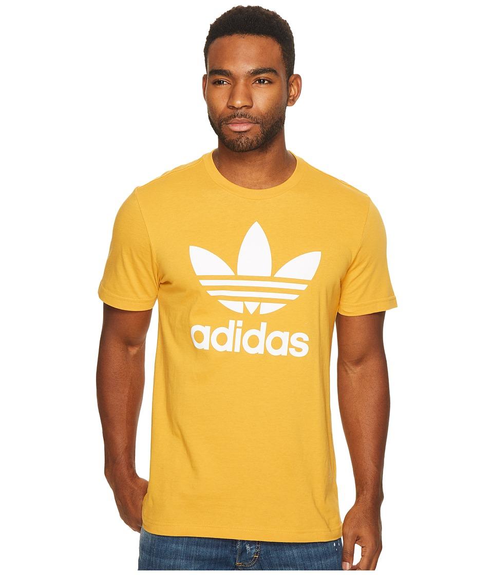 adidas Originals Originals Trefoil Tee (Tactile Yellow) Men