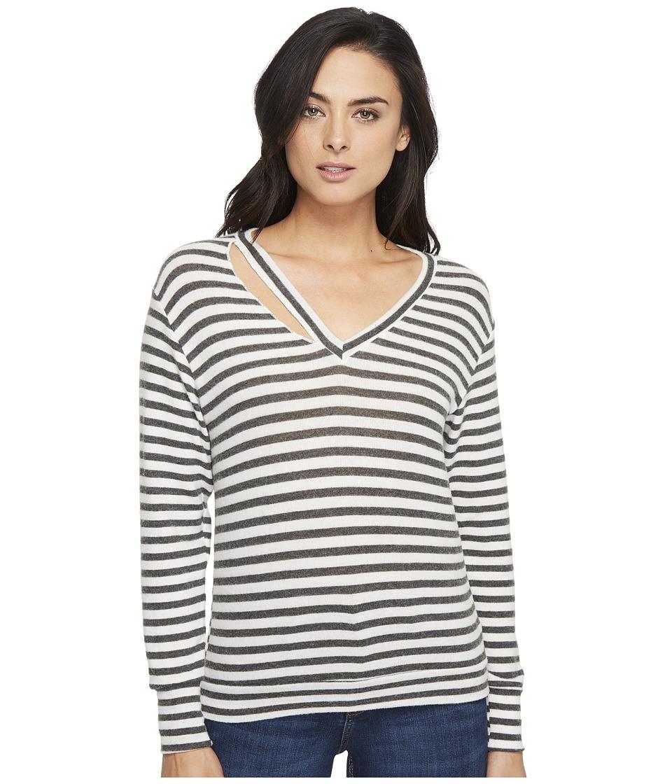 LNA Fallon Sweater (Natural Stripe) Women