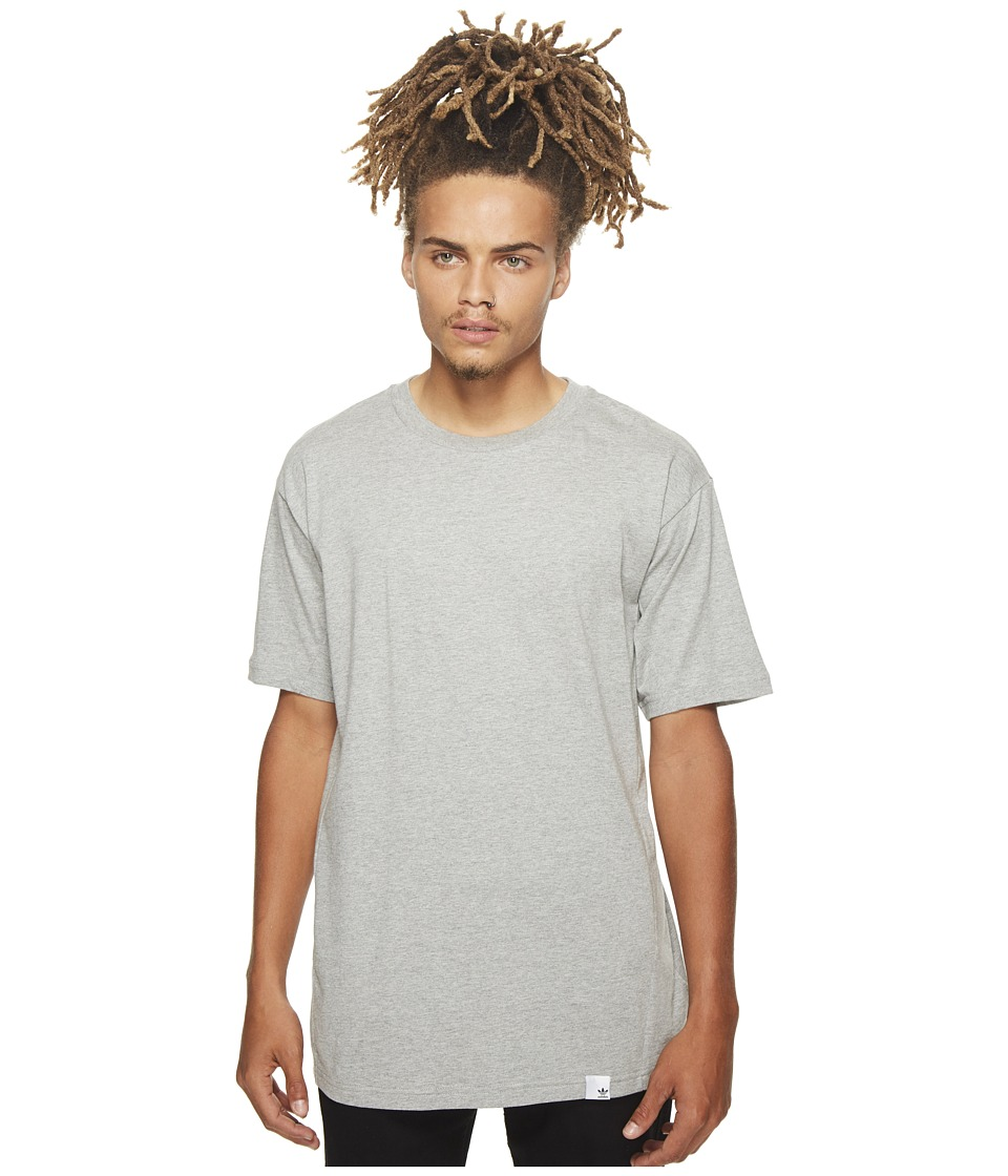 adidas Originals X By O Short Sleeve Tee (Medium Grey Heather) Men
