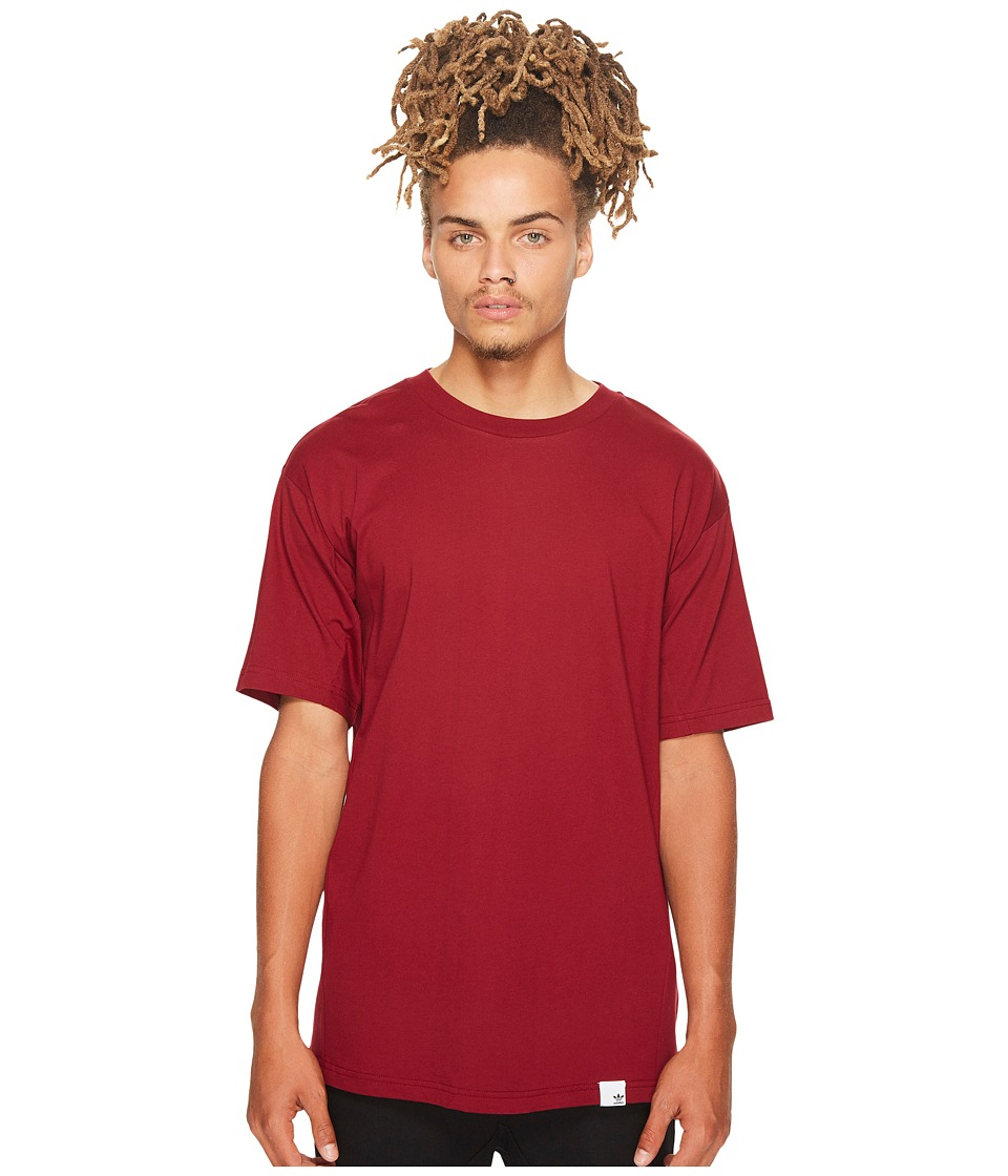 adidas Originals X By O Short Sleeve Tee (Collegiate Burgundy) Men