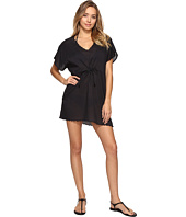 Echo Design - Solid Scallop Tunic Cover-Up