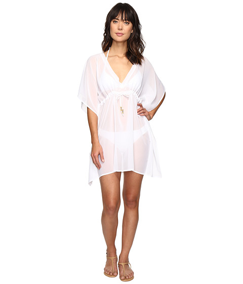 Echo Design Solid Silky Butterfly Cover-Up - White