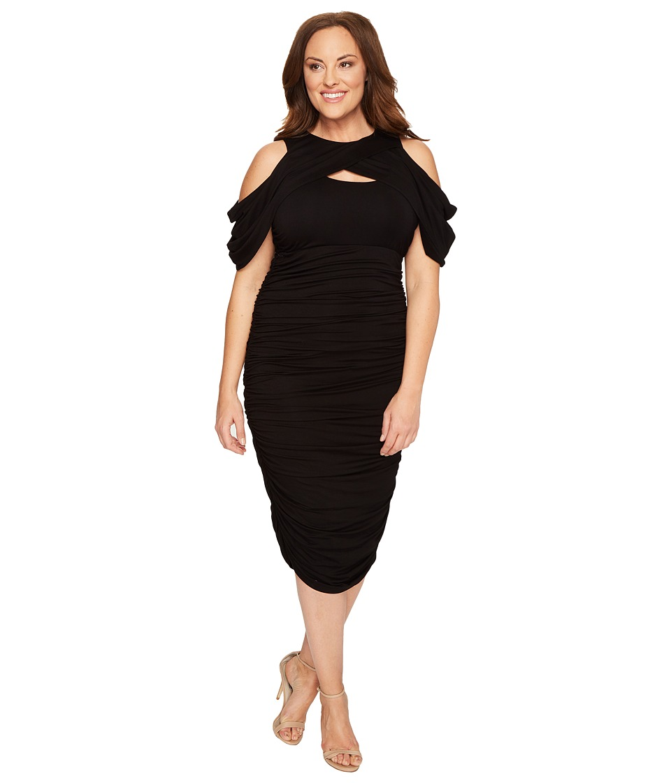 Kiyonna Kiyonna - Bianca Ruched Dress
