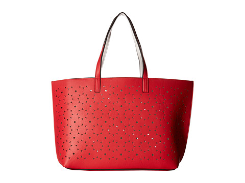 Echo Design Sunflower Laser Cut Essex Tote - Punch Pink/White