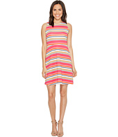 MICHAEL Michael Kors - Madison Stripe Flutter Dress