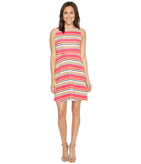 MICHAEL Michael Kors Madison Stripe Flutter Dress