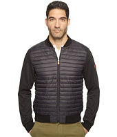 Save the Duck - Full Zip Baseball Collar Knit Nylon No Hood Jacket