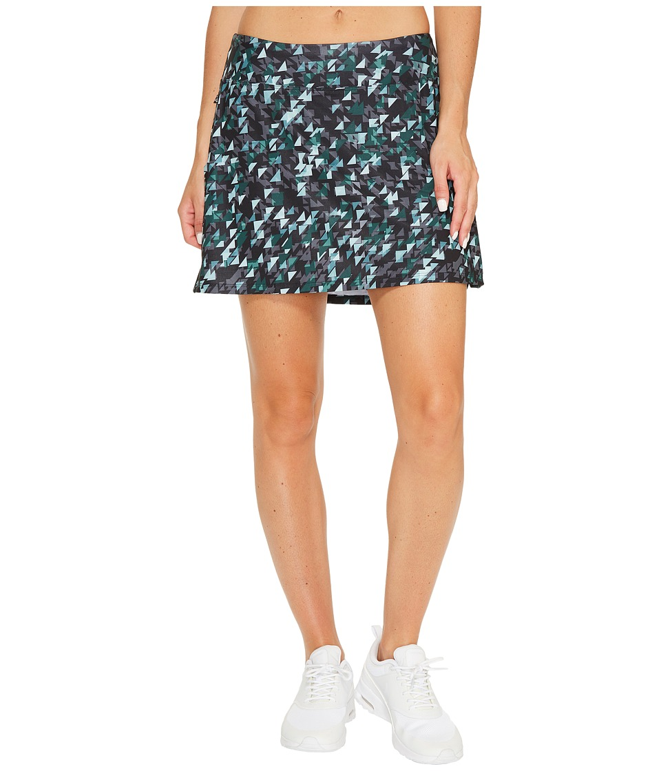 Skirt Sports - Gym Girl Ultra Skirt (Love Triangle Print) Womens Skort