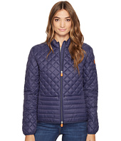 Save the Duck - Non Hooded Chanel Panel/Diamond Quilting with Two Front Pockets Jacket